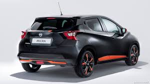 nissan micra 2017 2017 nissan micra bose personal edition rear three quarter hd