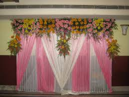 simple wedding stage decoration at home simple hindu wedding stage