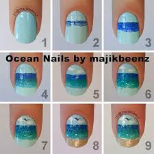 25 easy step by step nail art tutorials for beginners u0026 learners