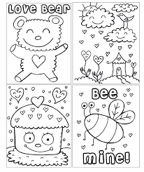 pdf printable valentine u0027s coloring book
