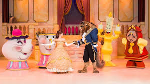 beauty and the beast live on stage entertainment walt disney