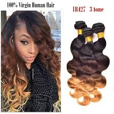 ombre weave 8a 1b427 3 tone ombre hair weave peruvian ombre hair