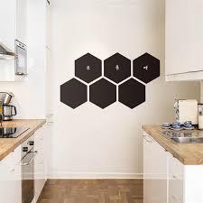 decor mural cuisine 23 20cm honeycomb kitchen wall stickers home decor wall mural