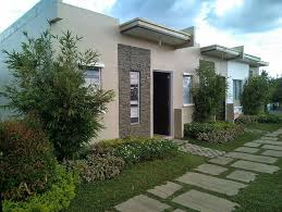 Row House Model - rent to own house and lot lumina homes tanza murang pabahay rent