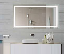 Illuminated Bathroom Mirror Cabinet by Illuminated Bathroom Mirror For Stylish Interior Bathroom