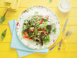 summer salad with blue cheese dressing recipes kitchen stories