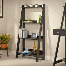 Chestnut Bookcase Leaning Bookcases You U0027ll Love Wayfair