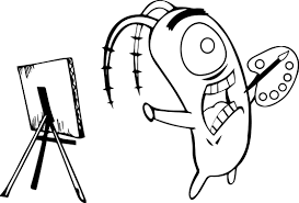 spongebob cartoon best perfect coloring page wecoloringpage