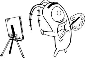 spongebob coloring book spongebob cartoon best perfect coloring page wecoloringpage