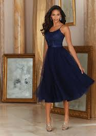 morilee beautiful tulle with embroidery and satin waistband
