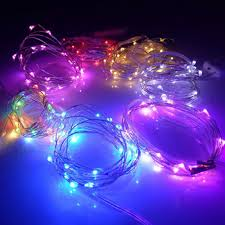 copper wire led lights battery operated 7 2ft 20 led fairy string lights firefly lights