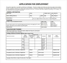 Employment Application Template Microsoft Word application template microsoft word template