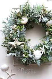 wreath of sea forest coastal decor coastal decorating
