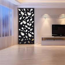 12Pcs 3D Mirror Vinyl Removable Wall Sticker Decal Home Decor Art