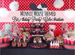 minnie mouse theme party minnie mouse themed birthday party celebration disney every day