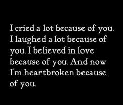 Heart Break Memes - friends broken heart quotes best quotes facts and memes