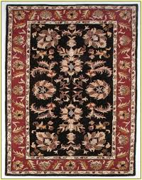 Burgundy Area Rugs Black And Burgundy Area Rugs Home Design Ideas