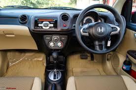 New Honda Civic 2015 India Honda Brio Automatic Official Review Team Bhp
