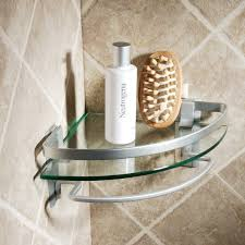 bathroom shelf idea bathtub corner shelf