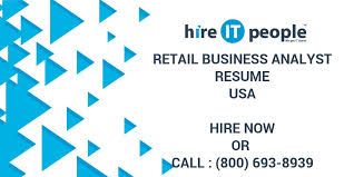 retail business analyst resume hire it people we get it done