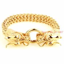 dragon bracelet jewelry images New fashion men 39 s punk jewelry strand bracelets bangles gold jpg