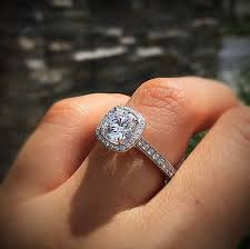 engagement rings with halo inspiring circle halo engagement rings 51 in home designing