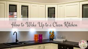 clean modern kitchen how to wake up to a clean kitchen modern homemakers society