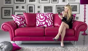 Scatter Back Cushions Pink Sofology Burlesque Leather 3 And 2 Seater Sofas Scatter Back