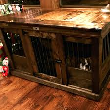 nightstands dog kennel nightstand handcrafted and crate custom