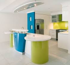 Modern White Kitchen Backsplash Interior Surprising Picture Of Colorful Kitchen Design And