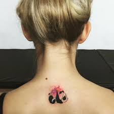 Back Neck Tattoos For - 60 funky neck ideas to an exclusive style statement