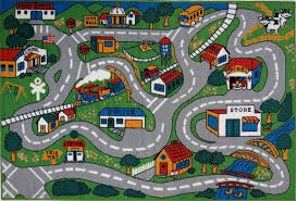 Kid Rugs Rugs Children S Time Collection Country Walmart