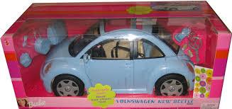 barbie porsche amazon com barbie volkswagen new beetle in light blue vw beetle