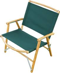Folding Chair With Table Kermit Chair Company The Original Touring Chair Wood Camping Chair