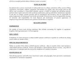 Resume Job Description For Forklift Operator by Excellent Inspiration Ideas Forklift Resume 8 Forklift Resume