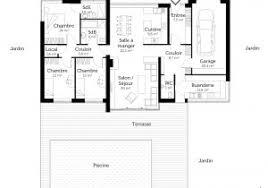 plans maison plain pied 3 chambres plan maison plain pied 100m2 59 best images about maisons on avec