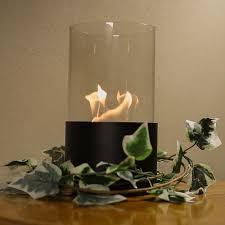 sunnydaze fiammata ventless tabletop bio ethanol fireplace color