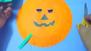 pumpkin mask how to make creepy pumpkin mask diy easy