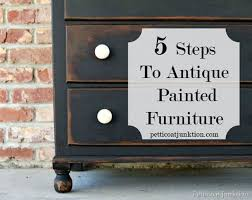 Different Ways To Paint A Table Best 25 Antique Painted Furniture Ideas On Pinterest Chalk