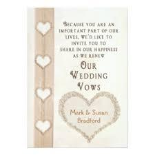 vow renewal invitations renewal wedding invitations