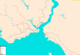 Istanbul Turkey Map Istanbul Real Distance Metro Map