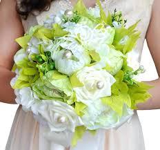 Silk Wedding Flowers Buy Silk Wedding Bouquets Online Buy Cheap Lilacs Purple Wedding