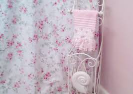 Ruffle Shower Curtain Uk - curtains wonderful pink rose curtains pink and grey shower