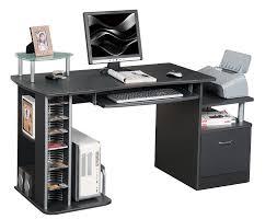 bureau informatique noir sixbros bureau informatique noir s 202a 85 amazon fr