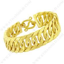 double gold bracelet images 5 baht matte diamond cut solid double curb chain bracelet in 23k jpg