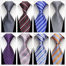 s new neckties fashion tie high quality striped plaid business