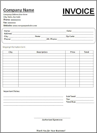 Invoice Template Excel Australia Simple Invoice Template Basic Invoice Template Invoicing
