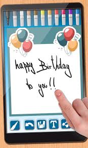 design birthday cards android apps on play