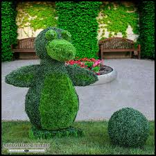 Topiary Plants Online - artificial penguin animal topiary