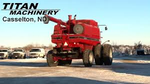 case ih 2188 combine sold on els youtube